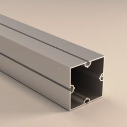 Profilo quadrato 4 vie 80x80 mm