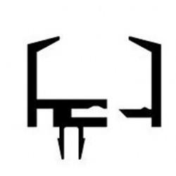 Profilo serra vetro