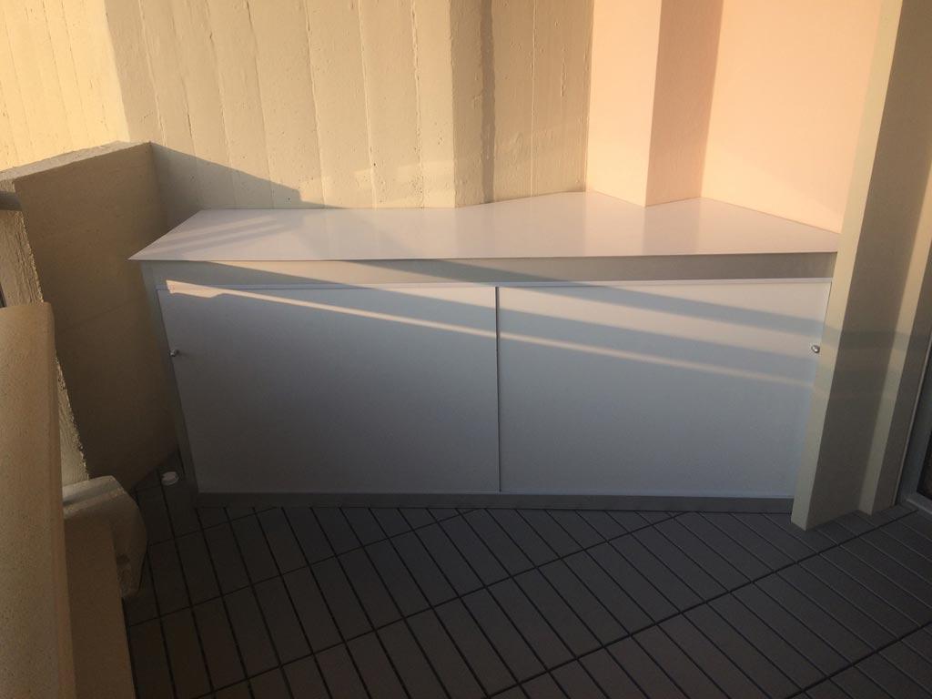 Scaffalatura per lavanderia